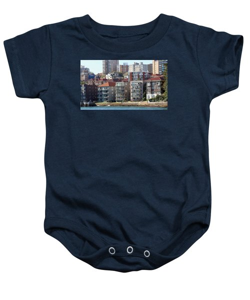 Baby Onesie featuring the photograph Posh Burbs by Stephen Mitchell
