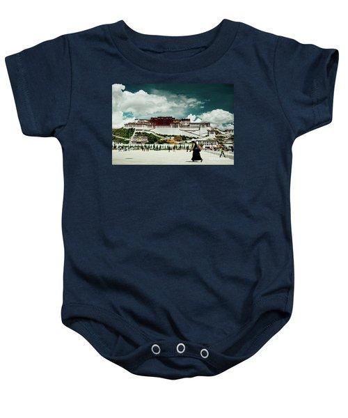 Potala Palace. Lhasa, Tibet. Yantra.lv Baby Onesie