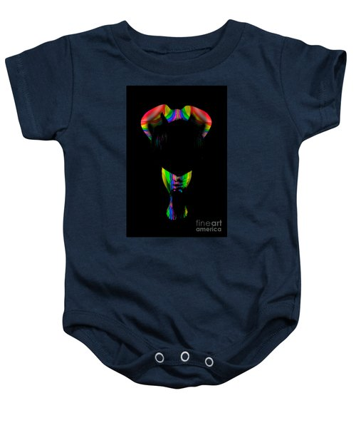 Projected Body Paint 2094999b Baby Onesie