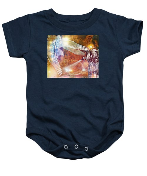 Protect Our Firefighters Baby Onesie