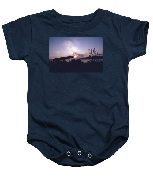 Putting Up The Sun Baby Onesie
