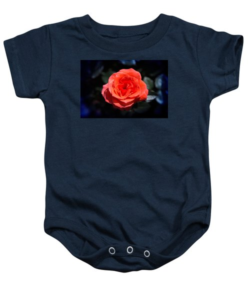 Red Rose Art Baby Onesie