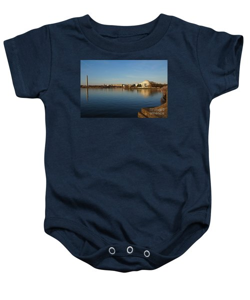 Reflections  Baby Onesie by Megan Cohen