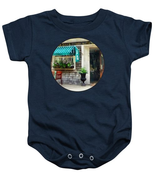 Rhode Island - Antique Shop Newport Ri Baby Onesie