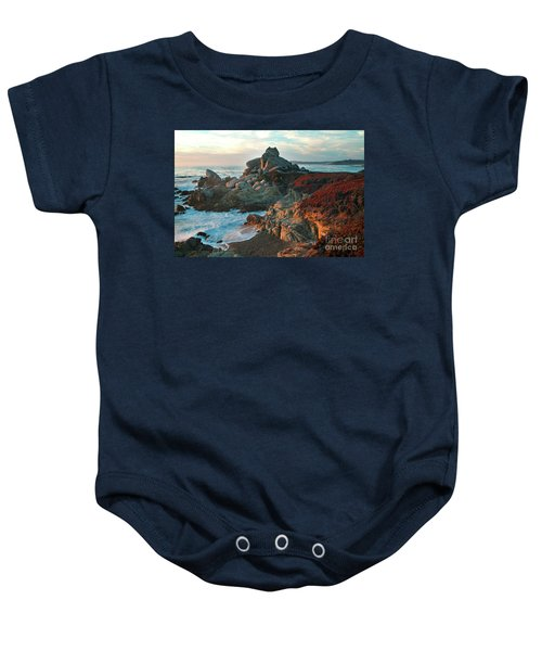 Ribera Beach Sunset Carmel California Baby Onesie