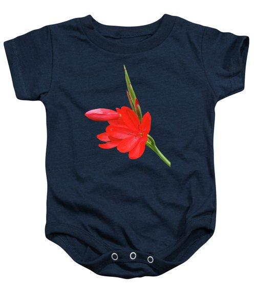 Ritzy Red Baby Onesie