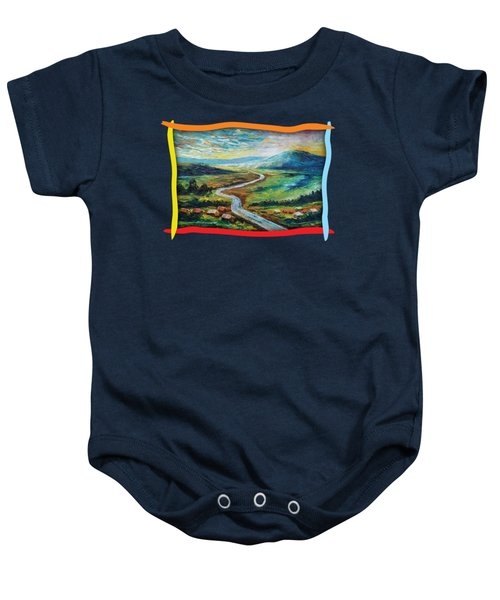 River In The Valley Baby Onesie