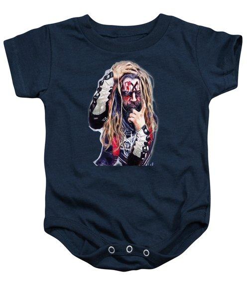 Rob Zombie Baby Onesie