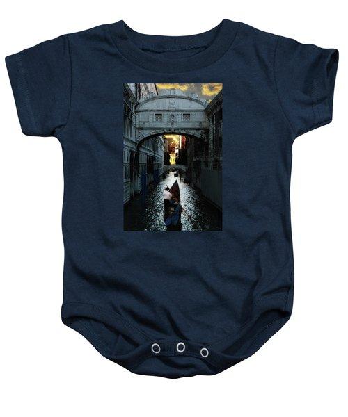 Romantic Venice Baby Onesie