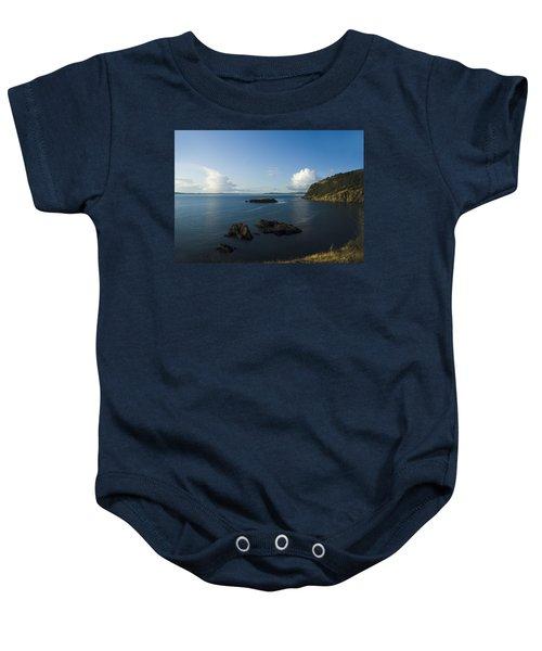 Rosario Strait Near Anacortes Baby Onesie