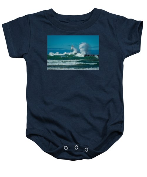 Rough Seas  Baby Onesie
