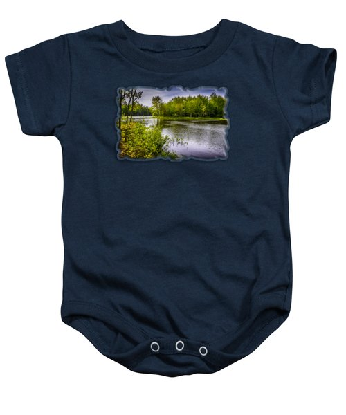 Round The Bend In Oil 36 Baby Onesie