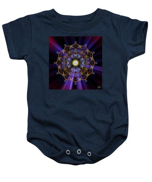 Sacred Geometry 647 Baby Onesie