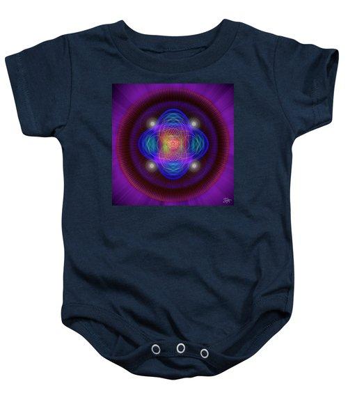 Sacred Geometry 654 Baby Onesie