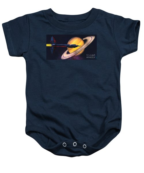 Saturn Visit Baby Onesie