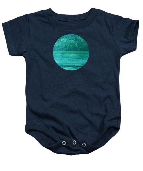 Sea Blue Baby Onesie