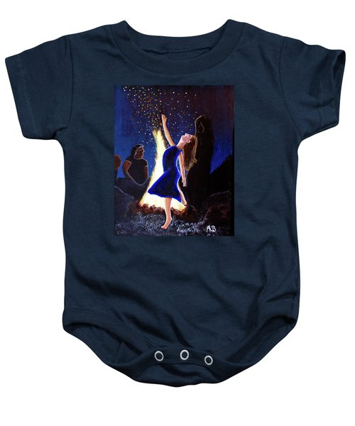 Setting On Fire Baby Onesie