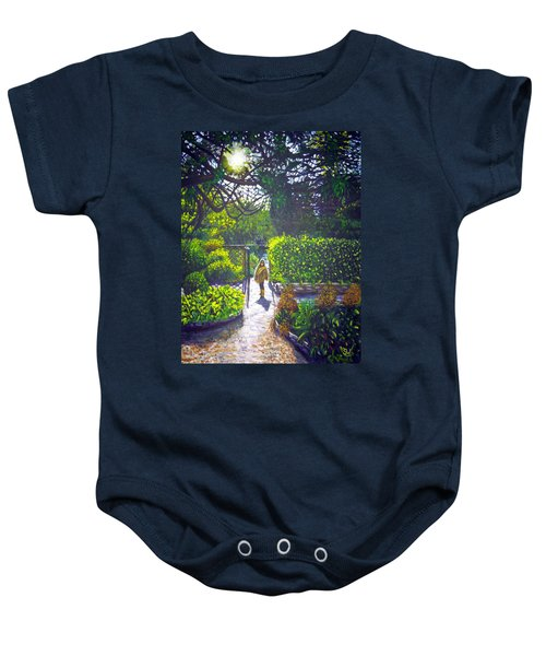 Shirley At Chalice Well Baby Onesie