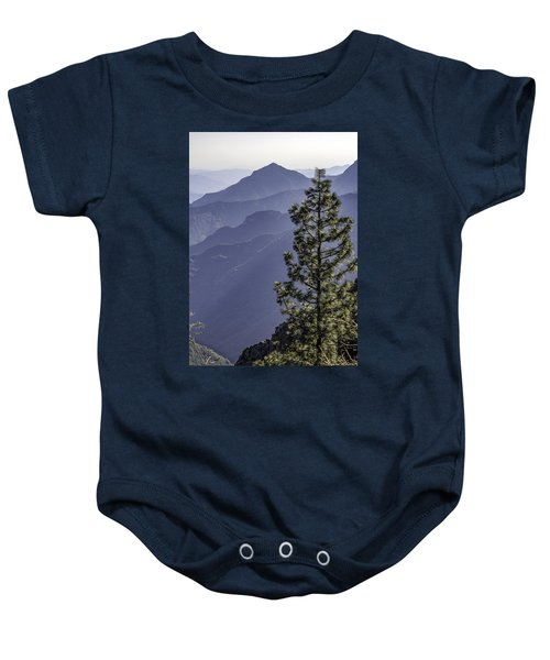 Sierra Nevada Foothills Baby Onesie