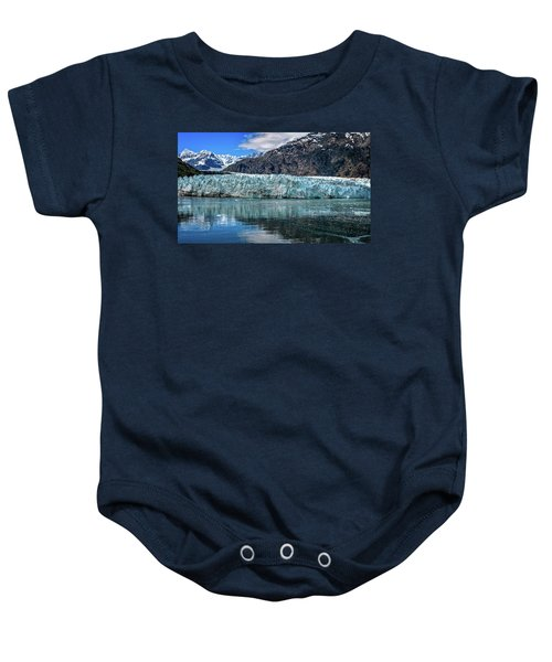 Size Perspective No Margerie Glacier Baby Onesie