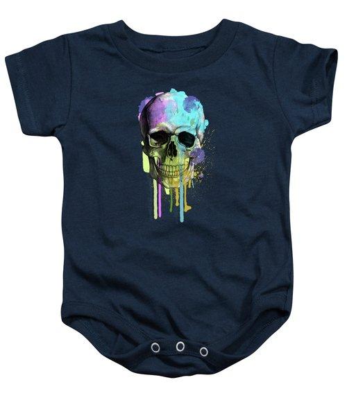 Skull 6 Baby Onesie