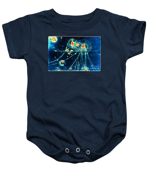 Slac Bubble Chamber Baby Onesie