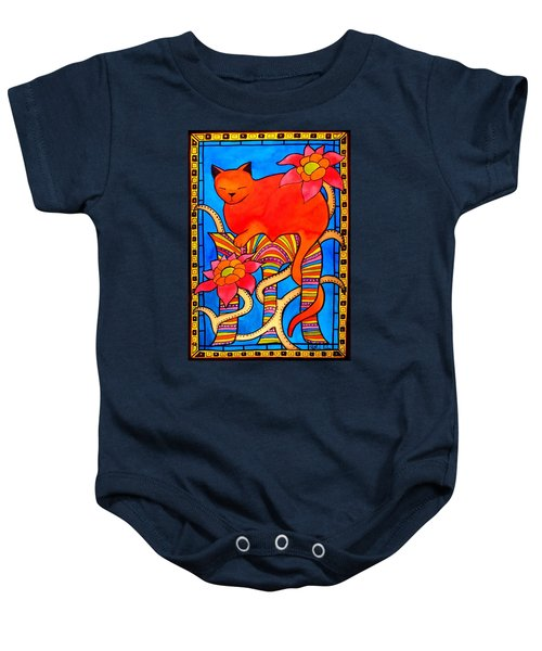 Sleeping Beauty By Dora Hathazi Mendes Baby Onesie