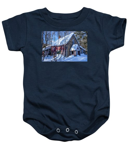 Small Abandon House Baby Onesie