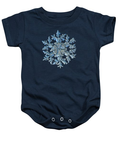 Snowflake Photo - Gardener's Dream Baby Onesie