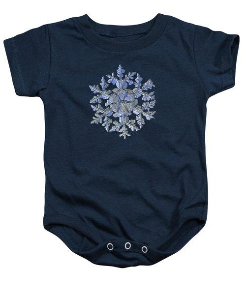 Snowflake Photo - Gardener's Dream Alternate Baby Onesie