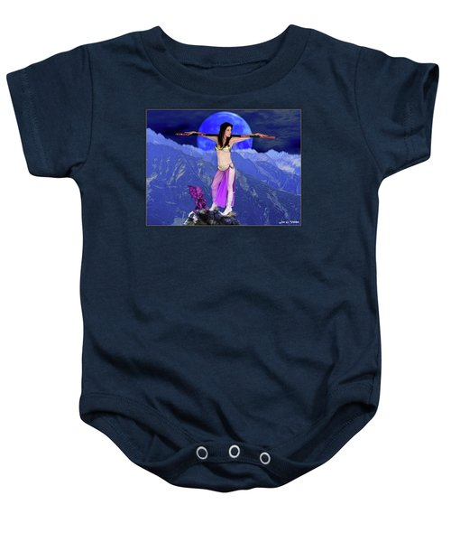 Sorceress And Her Familar Baby Onesie