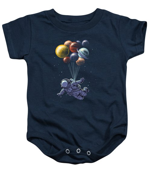 Space Travel Baby Onesie