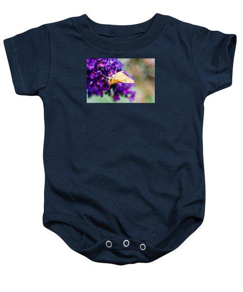 Spring Moth Baby Onesie