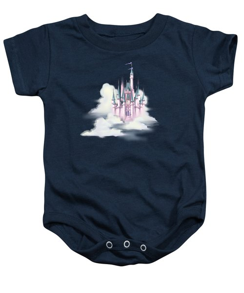 Star Castle In The Clouds Baby Onesie