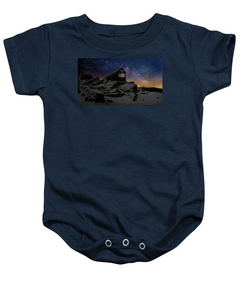 Baby Onesie featuring the photograph Star Spangled Banner by Bill Wakeley