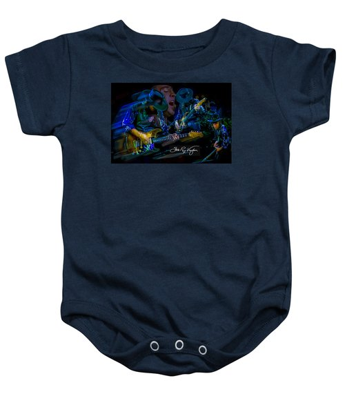 Stevie Ray Vaughan - Double Trouble Baby Onesie
