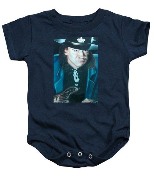 Stevie Ray Vaughn Baby Onesie