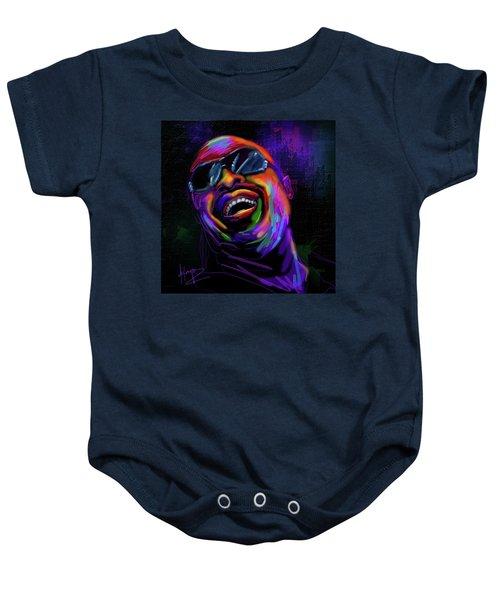 Stevie Wonder Baby Onesie