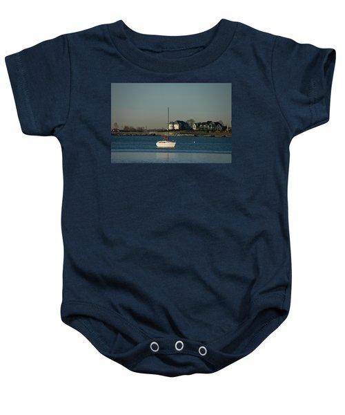 Still Boat Baby Onesie