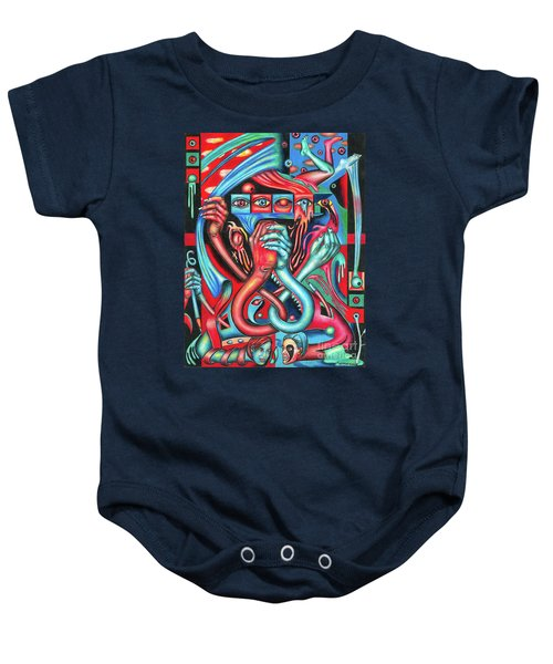 Striving For An Equilibrium Baby Onesie