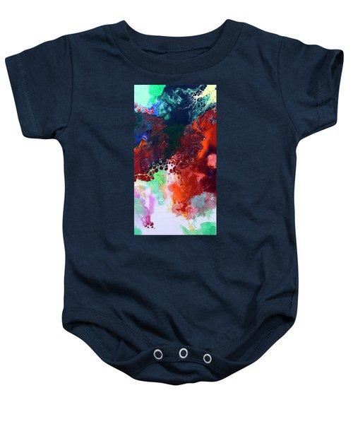 Subtle Vibrations, Canvas Five Of Five Baby Onesie