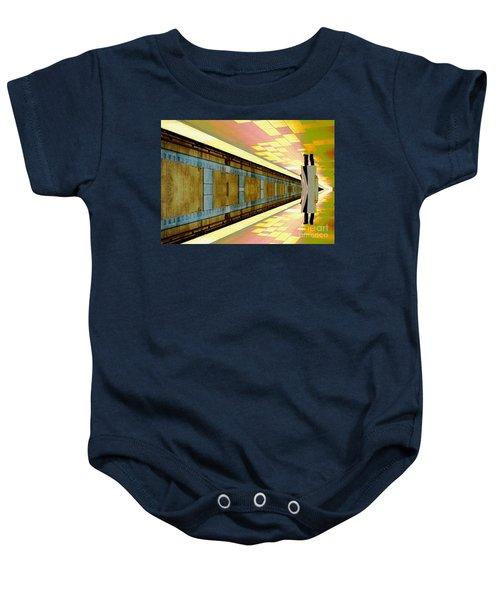 Subway Man Baby Onesie