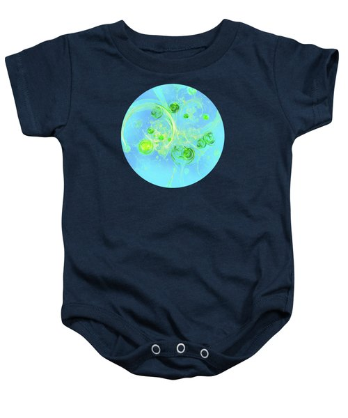 Summer Tree Of Life Baby Onesie