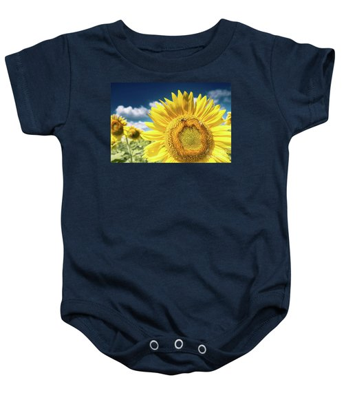 Sunflower Dreams Baby Onesie