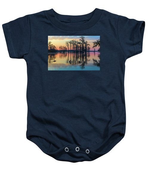 Sunrise, Bald Cypress Of Nc  Baby Onesie