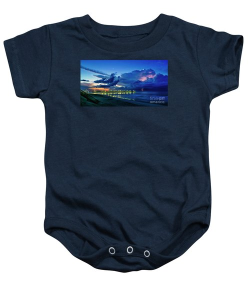 Sunrise Lightning Baby Onesie
