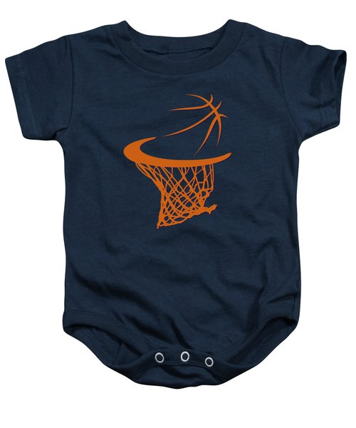 Suns Basketball Hoop Baby Onesie by Joe Hamilton