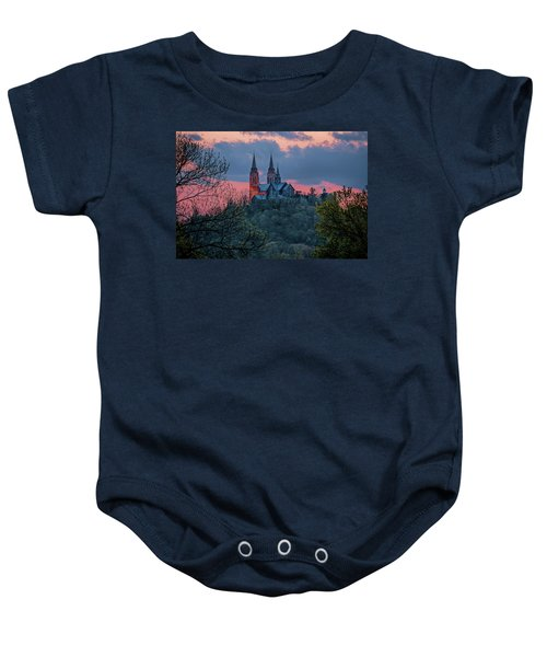 Sunset At Holy Hill Baby Onesie