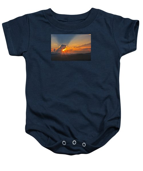 Sunset - Close Another Day Baby Onesie