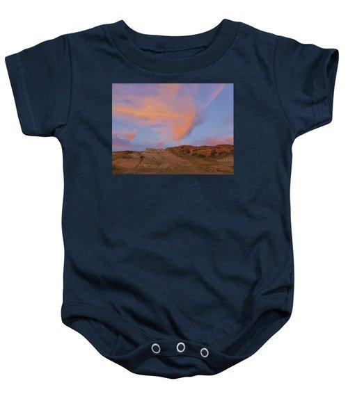 Sunset Clouds, Badlands Baby Onesie